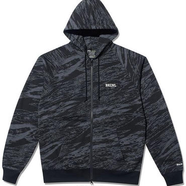 BackChannel-GHOSTLION CAMO FULL ZIP PARKA