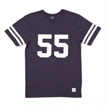 APPLEBUM 55 Line Football Shirt [Heather Navy]