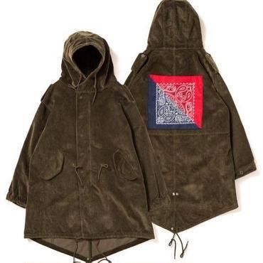 APPLEBUM Corduroy Army Coat [Olive]