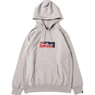 APPLEBUM Bandanna Box Sweat Parka