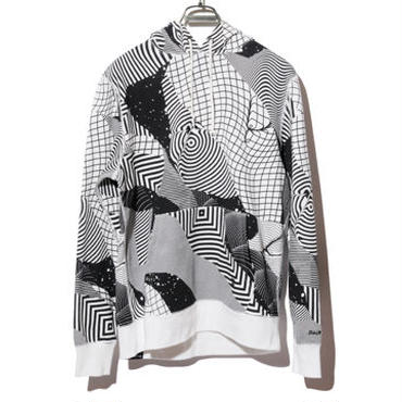BackChannel-FELIPE PANTONE FULL PRINT PULLOVER PARKA(WHITE)