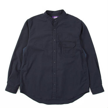 THE NORTH FACE PURPLE LABEL Polyester Twill Stand Collar Shirt
