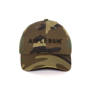 APPLEBUM Logo Cotton Camo Cap