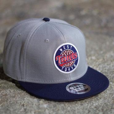 Farets Snapback Cap (Grey/Navy)