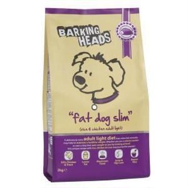 バーキングヘッズ ファットドッグスリム 全犬種成犬用 体重管理用 2㎏