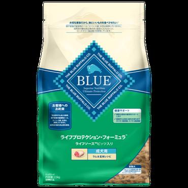 ブルーバッファロー 成犬用 ラム&玄米レシピ  900g
