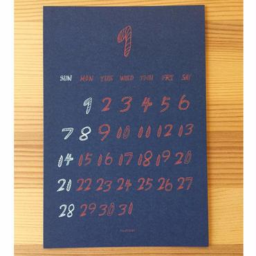 HAHAHANO LABO・2018 カレンダー<A4>