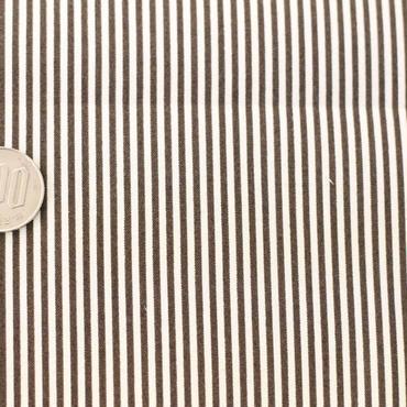 ストライプ ホワイト×ブラック 50cm