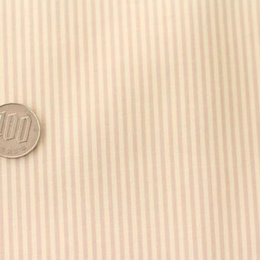 ストライプ ベージュ×ホワイト 50cm