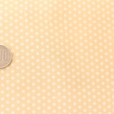 水玉ドット ライトベージュ 50cm