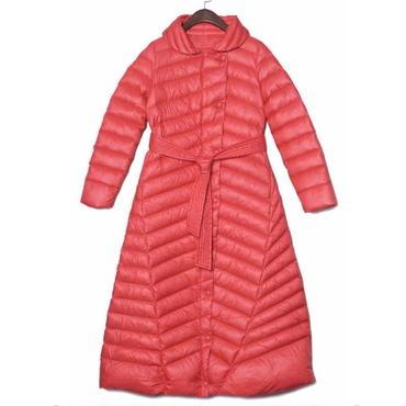 完全防寒 スタンドカラー ロングダウンコート