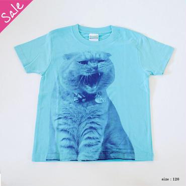 【SALE】がるるふくキッズTシャツ(アクアブルー)