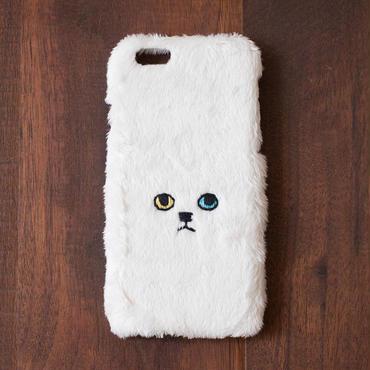 [KEORA KEORA] ネコiPhoneカバー(ハードタイプ) - ホワイト