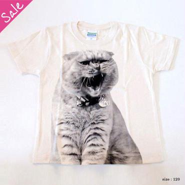 【SALE】がるるふくキッズTシャツ(ナチュラル)