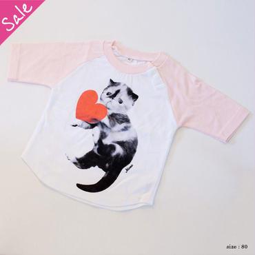 【SALE】めめ ベイビーTシャツ(ピンク)