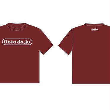 OOTA DOJO Tシャツ(バーガンディ)