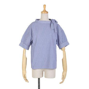 サイドボウタイ半袖シャツ/F i.n.t