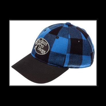SUPER NEW!【バスプロショップロゴ・プレード・キャップ Bass Pro Shops Plaid Logo Cap 】ブルー