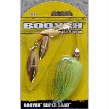 100%フィッシングエルモ発信の通称「鯉のぼり」こと、超高速リトリーブで最高のパフォーマンスを発揮する逸品!【ブーヤー スーパーシャッド 3/8oz】カラー614 GOLD/CHART GOLD