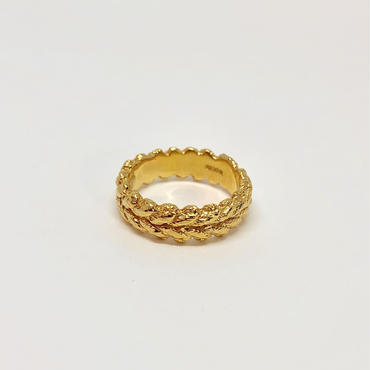 lace laurel ring (gold)---112