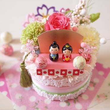 フラワーケーキ*ひな祭り