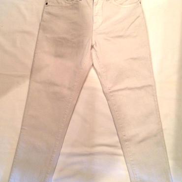 JohnBull ジョンブル FLEX SLIM PANTS フレックス スリムパンツ 21160  ホワイト