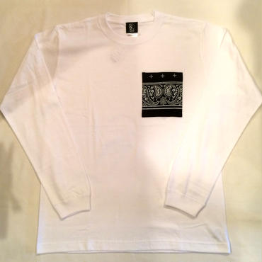 PAWN GRIFFIN POCKET L/S TEE 96504 ホワイト