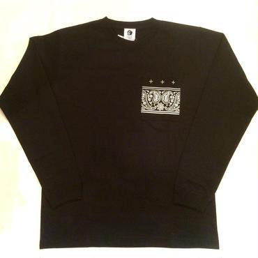 PAWN GRIFFIN POCKET L/S TEE 96504 ブラック
