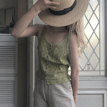 pale green camisole