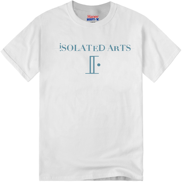 iSOLATED ARTS on Hanes BEEFY T-Shirts(White / Blue Beige) - General Price