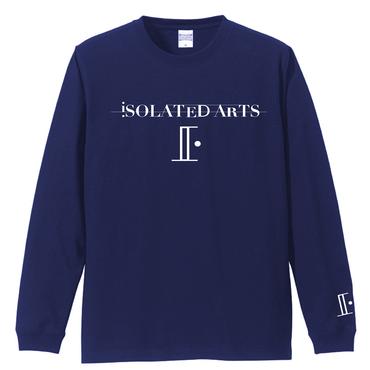 iSOLATED ARTS-Standard Long Sleeb Tshirts(Navy)リブ有【期間限定Price】