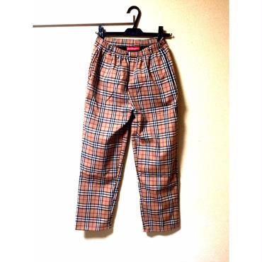 """forteワイドチェックパンツ""""pajamas""""(ladys)"""