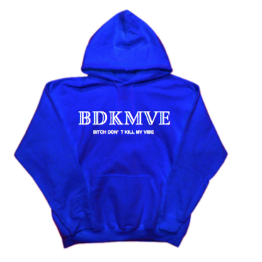 iSOLATED ARTS - BDKMVE HOODIE(BLUE)
