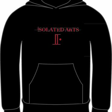 iSOLATED ARTS Rudie Hoodie (BLK / RED) 紐なしタイプ-General Price