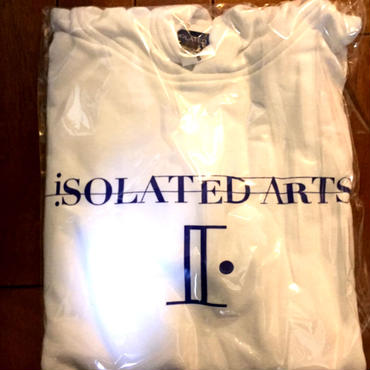 iSOLATED ARTS Rudie Hoodie (WHITE / NAVY) 紐なしタイプ-General Price