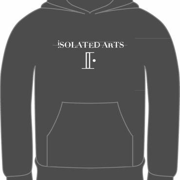 iSOLATED ARTS Rudie Hoodie (GREY / WHITE) 紐なしタイプ-General Price