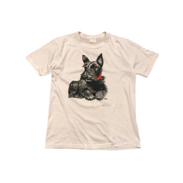 90s print t-shirt ホワイト カナダ製