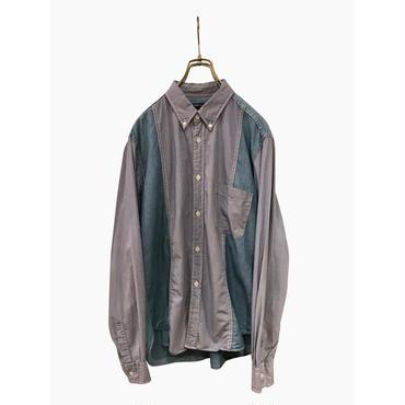 """""""COMME des GARÇONS HOMME"""" L/S cotton shirt 表記M"""