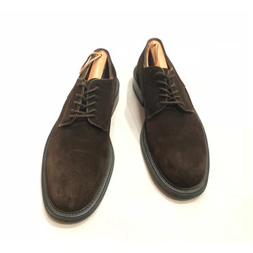 suede leather shoes イタリア製 ブラウン 表記10D
