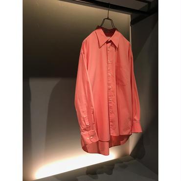 """""""C,D"""" L/S cotton shirt ピンク 表記16 1/2"""
