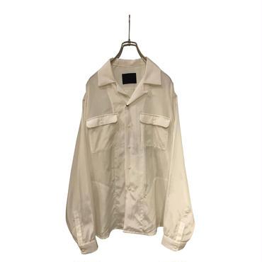 bukht 2018 S/S OPEN COLLAR SHIRTS オフホワイト size3