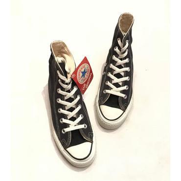 80s converse ALL STAR ブラック デッドストック 表記3 1/2