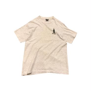 "80s OLD ""STUSSY"" print t-shirt 杢グレー USA製 表記L"