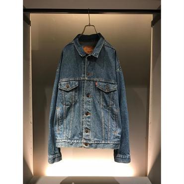 """Levi's"" 70507 denim jacket インディゴ USA製 表記L"