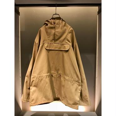 90s cotton blend anorak parka ベージュ USA製 表記S