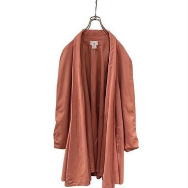 """unkown"" silk haori coat オレンジ"