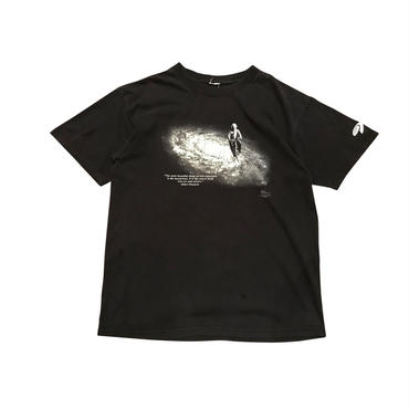 "00s ""Albert Einstein"" print t-shirt ブラック"