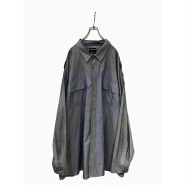 """Calvin Klein"" oversized cotton shirt 表記5XL"