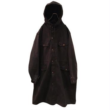 """""""Ralph Lauren""""cotton oversied coat ブラック 表記XL"""