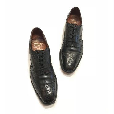 """""""church's Henley""""  leather shoes ブラック イングランド製 表記27,5cm"""